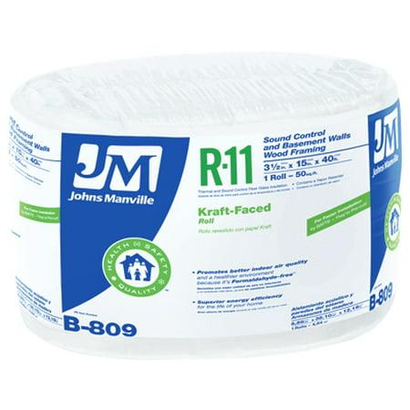 Johns Manville Intl Inc R11 Kraft Fiberglass Insulation