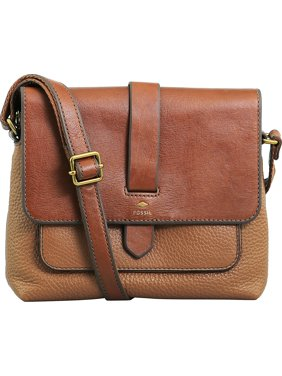 Product Image Fossil Women s Small Kinley Crossbody Leather Cross Body Bag  Satchel - Brown 2785522c4d3f9