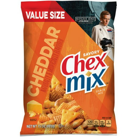Chex Mix Snack Mix, Cheddar](Halloween Chex Party Mix)