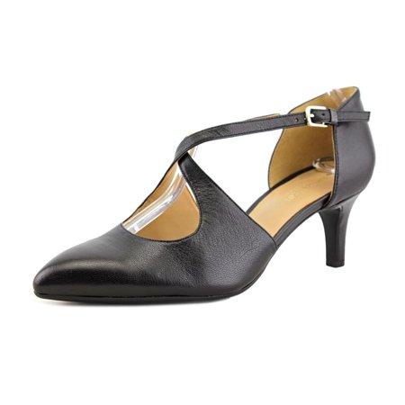 Naturalizer Okira Women  Pointed Toe Leather Black Heels