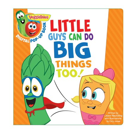 Cosplay Ideas For Big Guys (VeggieTales: Little Guys Can Do Big Things Too, a Digital Pop-Up Book -)