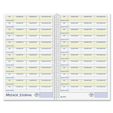 adams vehicle mileage and expense journal 5 1 4 x 8 1 2 fits the