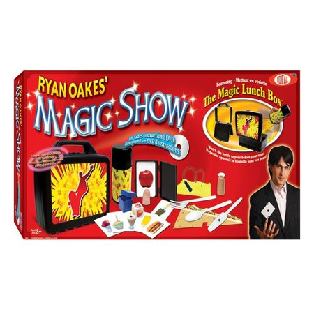 Ideal Ryan Oakes 101 Trick Magic Show With Magic Lunch Box Set And Instructional Dvd