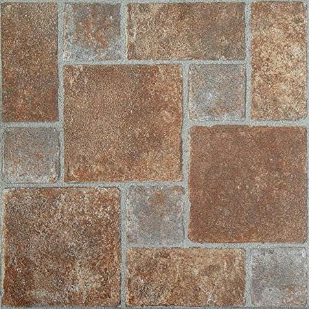 Park avenue collection nexus brick pavers 12 inch x 12 for 12 inch vinyl floor tiles