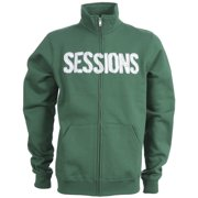 Sessions Silver Medalist Track Jacket Kelly Green Mens