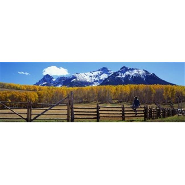 Panoramic Images PPI20457L Last Dollar Ranch  Ridgeway  Colorado  USA Poster Print by Panoramic Images - 36 x 12 - image 1 of 1