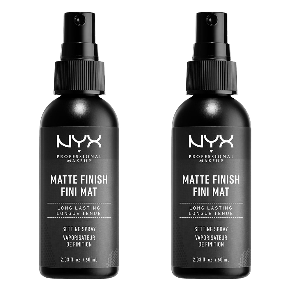 (2 Pack) NYX Professional Makeup Makeup Setting Spray, Matte