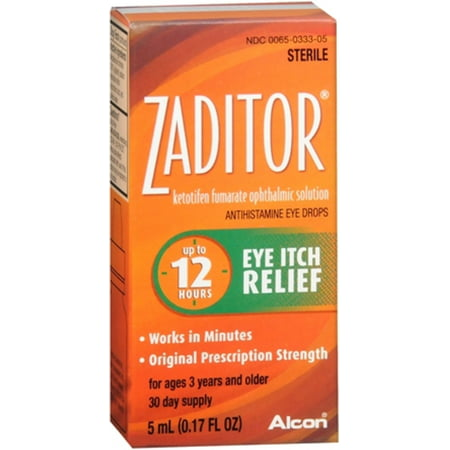 Zaditor Antihistamine Eye Drops (Zaditor Antihistamine Eye Drops 0.17)
