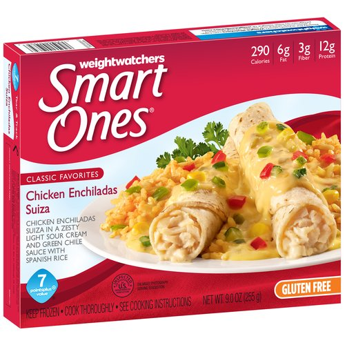 Weight Watchers Smart Ones Classic Favorites Chicken Enchiladas Suiza, 9 oz