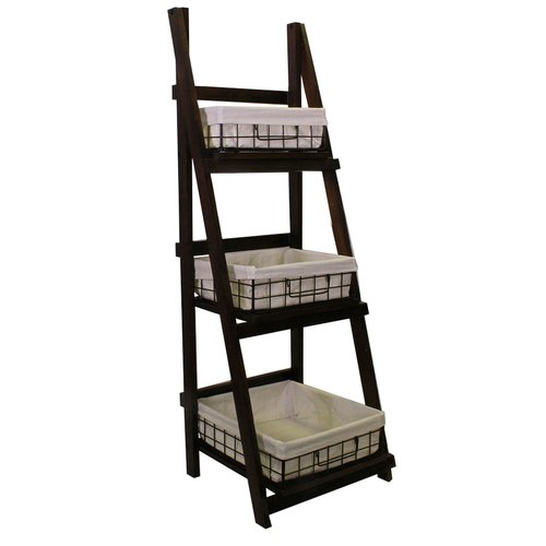 Jia Home Foldable Ladder Bookcase