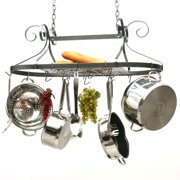 32 in. Decor Scrolled Oval Pot Rack