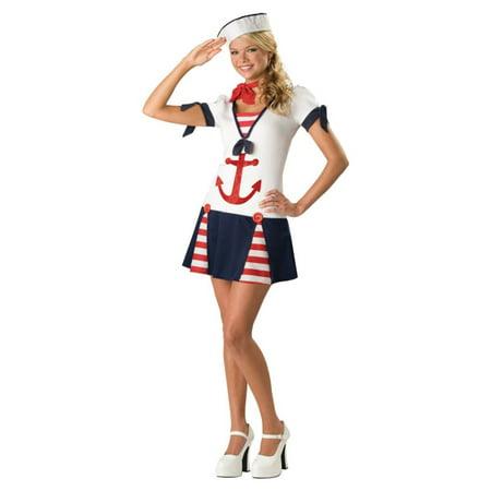 Sassy Sailor Teen Halloween Costume