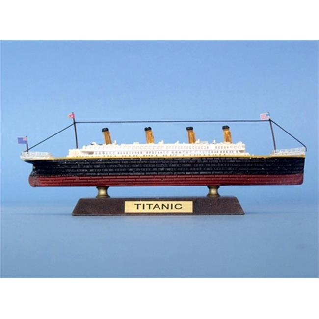 Handcrafted Model Ships Titanic 7 - LIKE RMS Titanic Limited 7 inch Decorative Cruise Ship