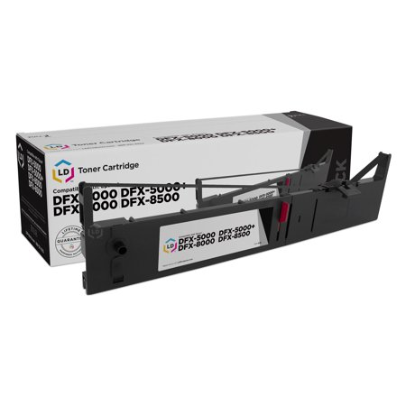 LD Compatible Ribbon Cartridge Replacement for Epson 8766 - 8766 Black Printer Ribbon