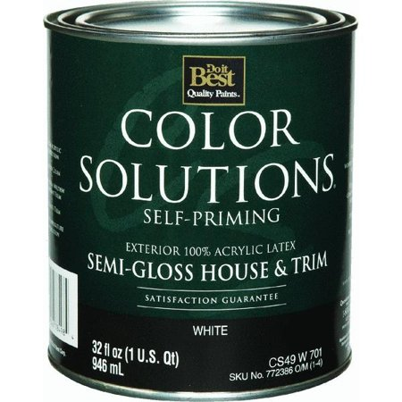 Color Solutions Latex Semi Gloss Self Priming Exterior House And No Cs49w0701 44