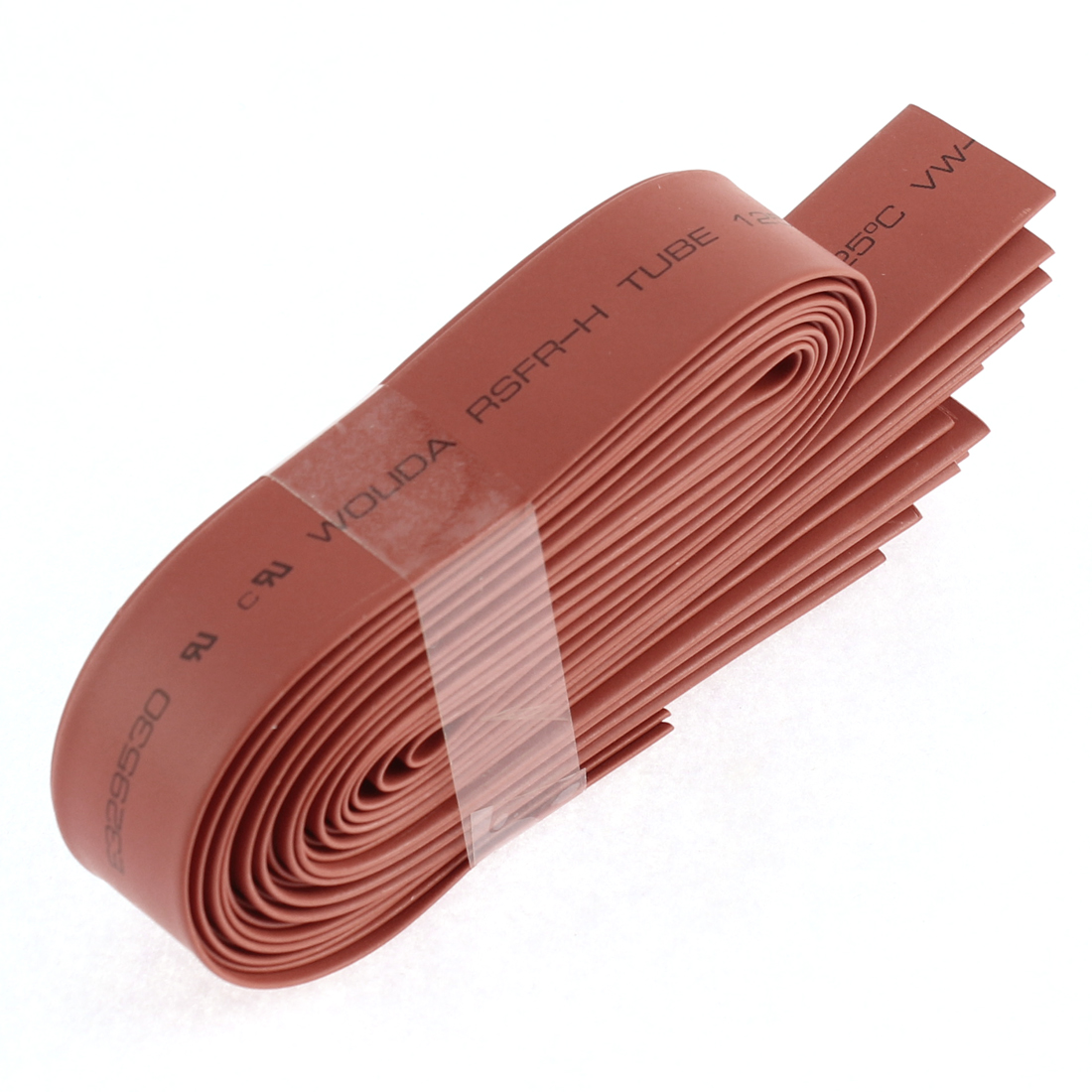 Unique Bargains Polyolefin Heat Shrink Tubing Cable Sleeve Red 35cm 1Ft 12mm Dia 13Pcs