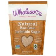 Wholesome! Cane Sugar, Turbinado, Raw, 1.5 Lbs.