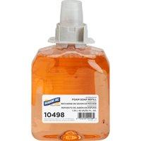 Genuine Joe Solutions, GJO10498, Antibacterial Foam Soap Refill, 1 Each, Orange