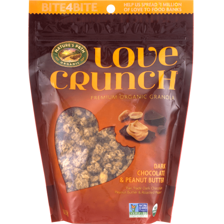 Chocolate Organic Granola ((3 Pack) Nature's Path Organic Granola, Dark Chocolate & Peanut Butter, 11.5 Oz)