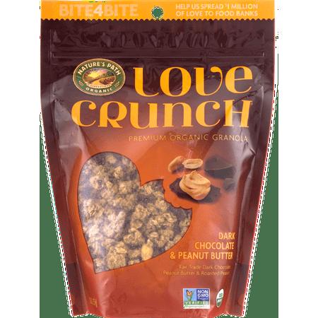 (3 Pack) Nature's Path Organic Granola, Dark Chocolate & Peanut Butter, 11.5 Oz