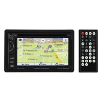 """Power Acoustik PDN-621HB 6.2"""" Incite Double-DIN In-Dash GPS Navigation LCD Touchscreen DVD Receiver with Bluetooth and MHL Mobilelink X2"""