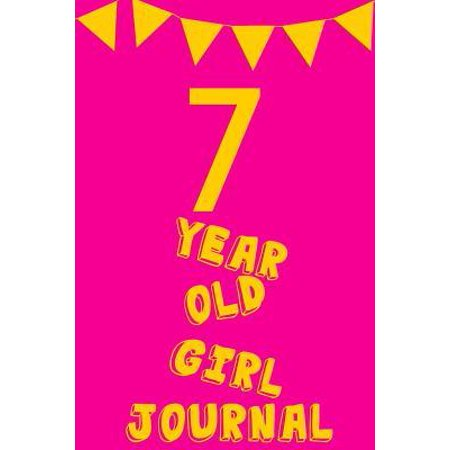 7 Year Old Girl Journal : Pink Yellow Balloons - Seven 7 Yr Old Girl Journal Ideas Notebook - Gift Idea for 7th Happy Birthday Present Note Book Preteen Tween Basket Christmas Stocking Stuffer (Best Christmas Gifts For Tweens)