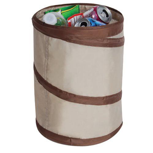 Spiral Pop-Up Trash Bin