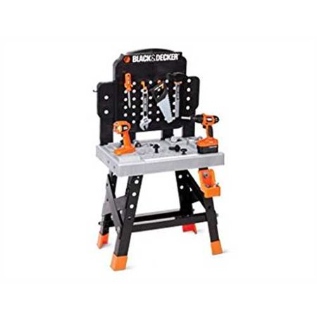 Brilliant Black And Decker Junior Ready To Build Work Bench With 53 Tool And Accessories Ibusinesslaw Wood Chair Design Ideas Ibusinesslaworg
