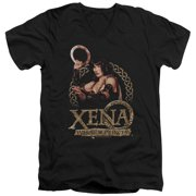 Xena Warrior Princess Royalty Mens V-Neck Shirt
