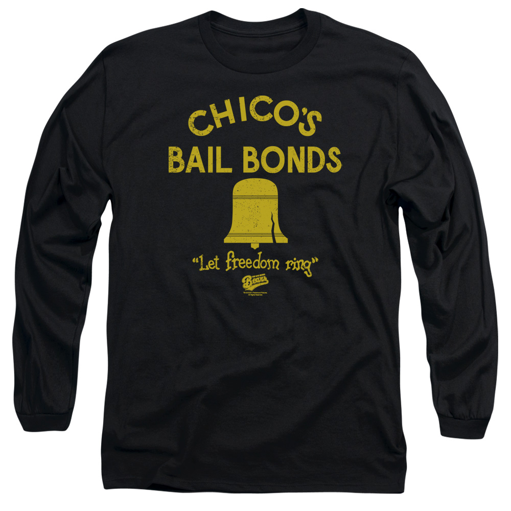 Bad News Bears Chico's Bail Bonds Mens Long Sleeve Shirt