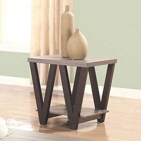 Coaster Home Furnishings 705397 End Table, Black/Grey Coaster Home Furnishings 705397 End Table, Black/Grey