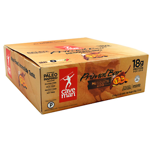 Click here to buy Caveman Foods Primal Bar by ManCave.
