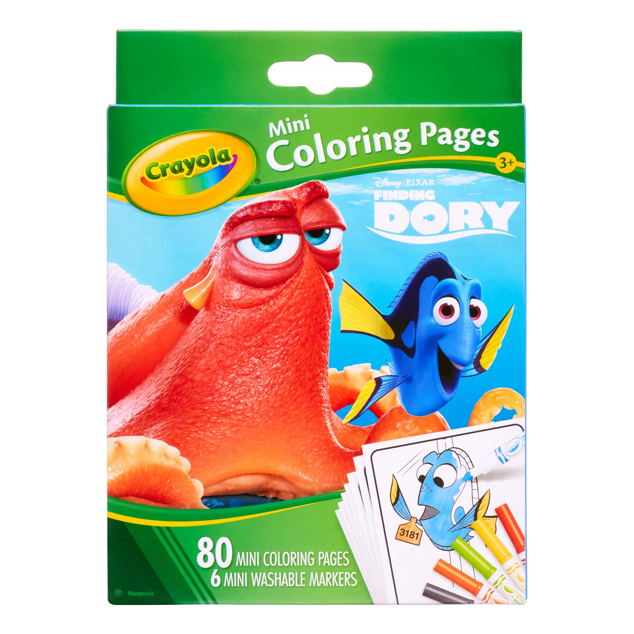 Dory Mini Coloring Pages