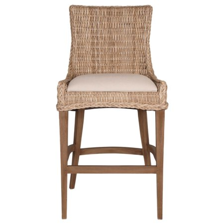 Oriental Express Furniture New Wicker Greco 30 in. Bar Stool - Set of 2 (Oriental Express Tampa)