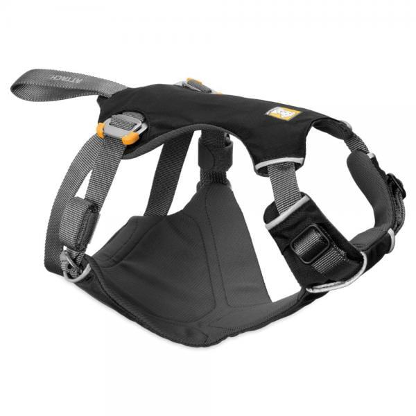 Ruffwear Load Up Dog SeatBelt Harness Obsidian Black Small