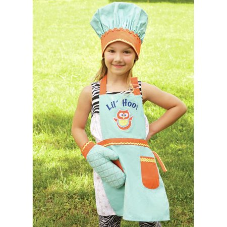 Manual Woodworkers & Weavers Lil' Hoot Apron (Set of 3)