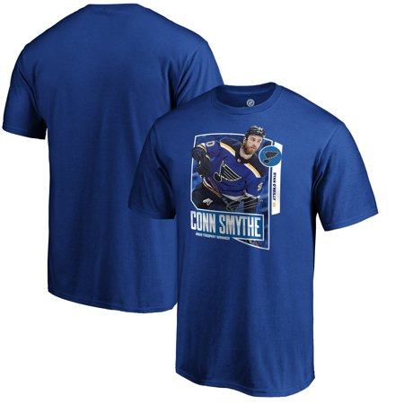 Ryan O'Reilly St. Louis Blues Fanatics Branded 2019 Stanley Cup Champions Conn Smythe Trophy Winner T-Shirt - (Conn Smythe Trophy)