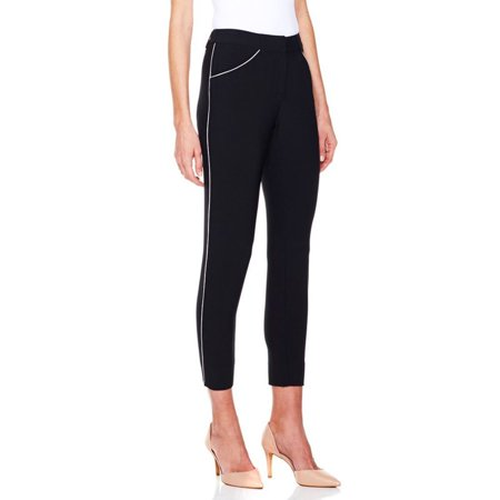 G Giuliana Rancic Gabardine Pants Piping 313 037