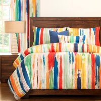 Sketchy Stripe Duvet Set by Siscovers