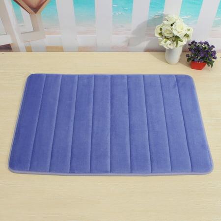 15.7 x23.6 inch Memory Foam Doormat Bath & Shower Floor Mat Soft Kitchen Bathroom Rug Indoor Outdoor Carpet
