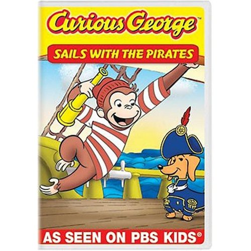 Curious George: Sails With Pirates And Other Curious Capers (Full Frame)
