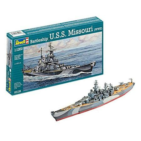 Revell Germany USS Missouri BB-63 Battleship Model Kit - image 1 of 4