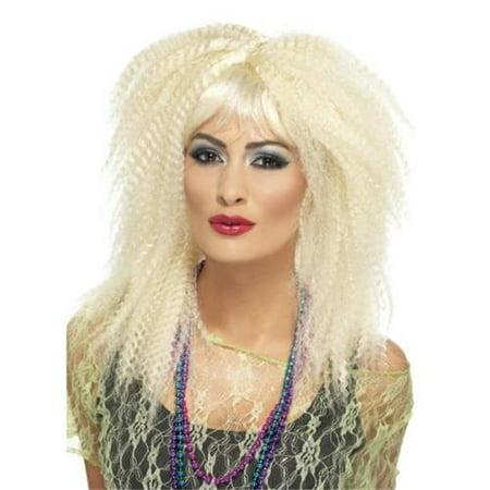 80s Trademark Crimp Wig](80s Rockstar Wig)