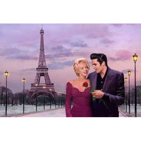 Paris Sunset Poster Print By  Chris Consani