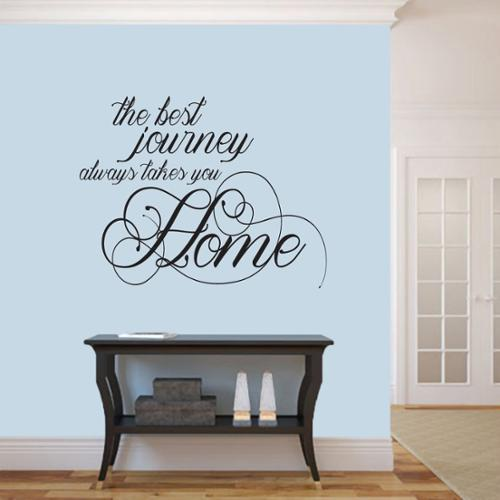 Sweetums The Best Journey Wall Decal (36-inch x  28-inch)