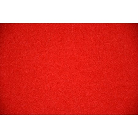 Dean Red Indoor/Outdoor Patio Deck Boat Entrance Event Carpet/Rug Runner Mat - Size: 4' x 6' ()