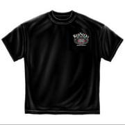 Black 100% Cotton Rednecks Rule T-Shirt (XXXL) Graphic Novelty Tee