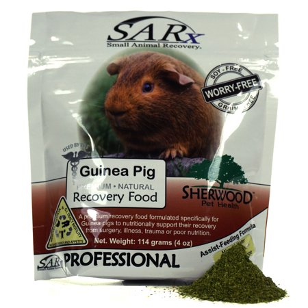 Recovery food for Guinea Pigs, SARx by Sherwood Pet Health - soy/grain-free (compare to Critical Care) 114 & 454 gram sizes