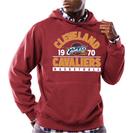 Nba Cleveland Cavaliers Big Mens Team Regime Long Sleeve Fleece Pullover