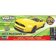 Revell SnapTite Build & Play 2015 Mustang GT 1:25 Plastic Model Kit 85-1689